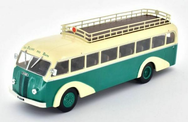 Hachette IXO HC58 1/43 Scale Panhard Movic Ie 24 Bus Coach France 1948 - 1953